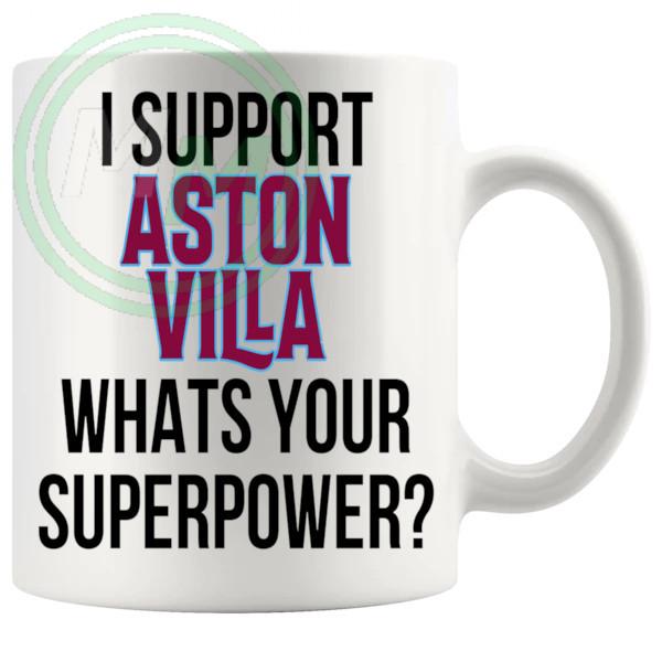 aston villa fans superpower mug