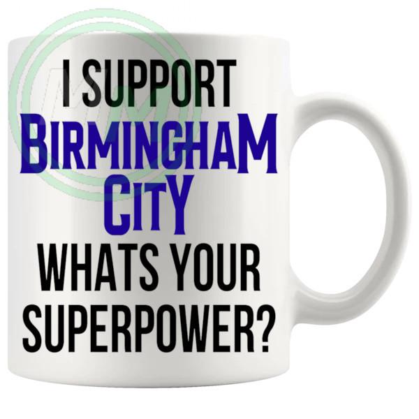 birmingham city fans superpower mug