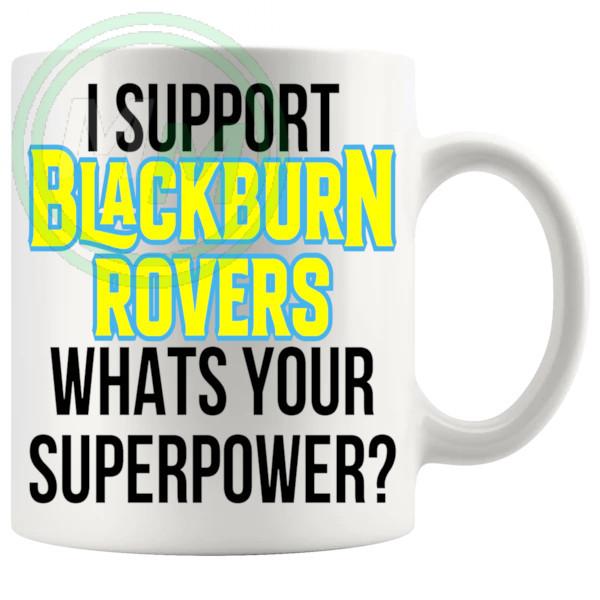 blackburn rovers fans superpower mug