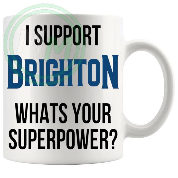 brighton fans superpower mug