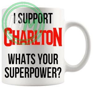 charlton fans superpower mug