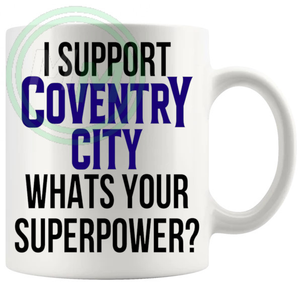 coventry city fans superpower mug