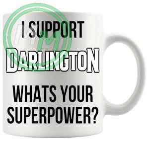 darlington fans superpower mug