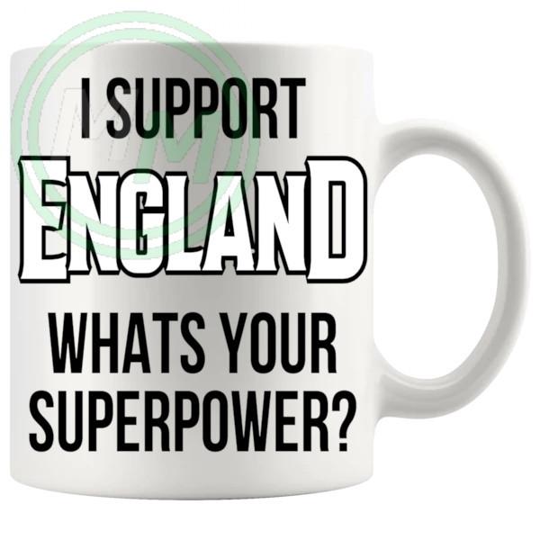 england fans superpower mug