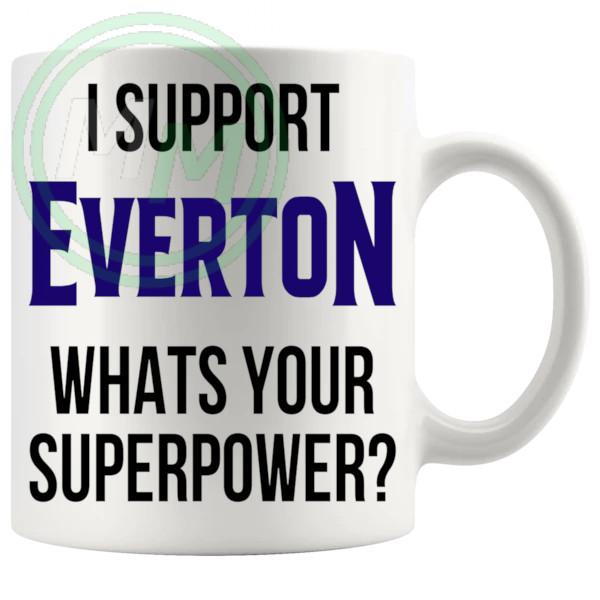 everton fans superpower mug