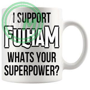 fulham fans superpower mug