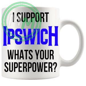 ipswich fans superpower mug