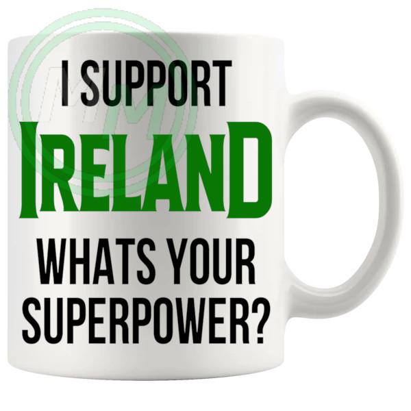 ireland fans superpower mug