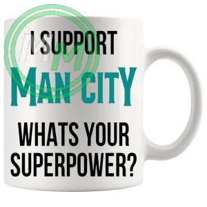 man city fans superpower mug
