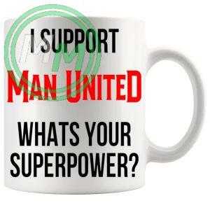 man united fans superpower mug