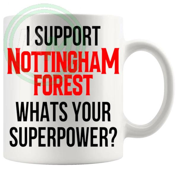 nottingham forest fans superpower mug