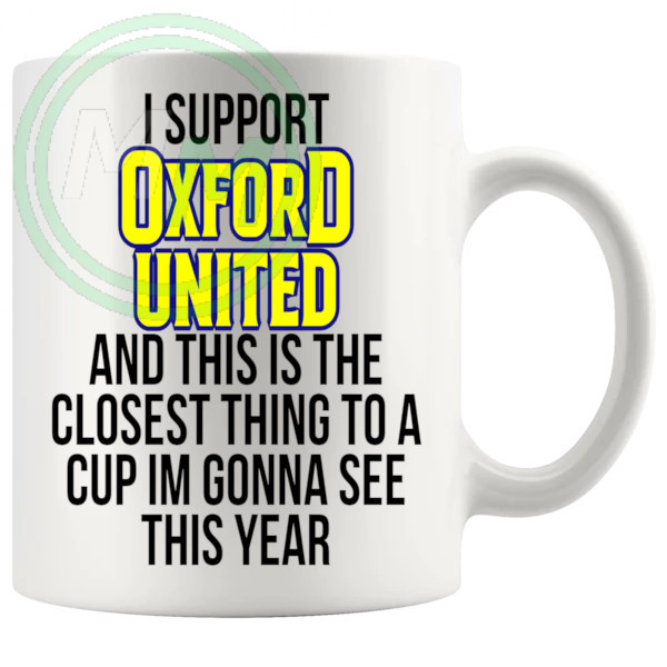 oxford united closest thing to a cup