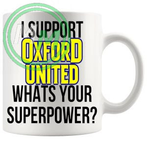 oxford united fans superpower mug