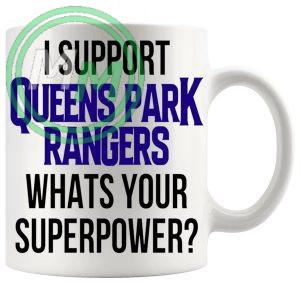 queens park rangers fans superpower mug