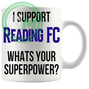 reading fc fans superpower mug