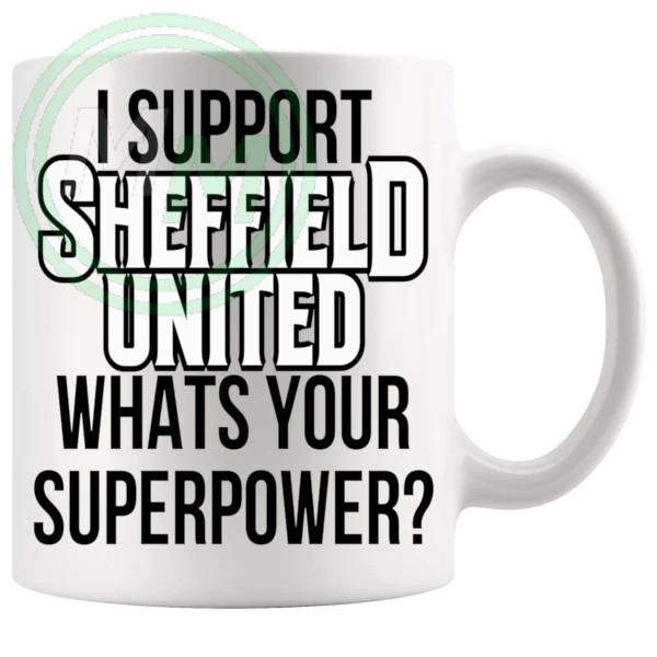 sheffield united fans superpower mug