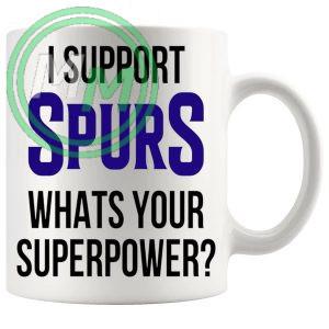 spurs fans superpower mug