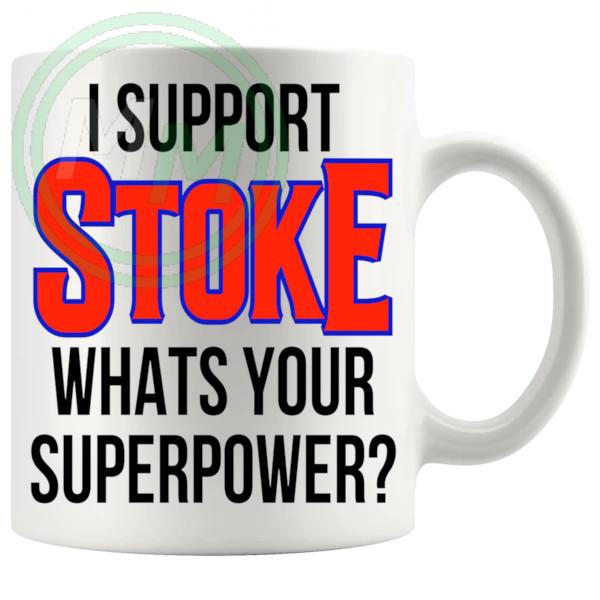 stoke fans superpower mug