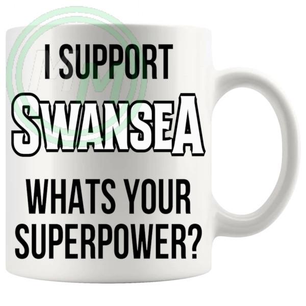swansea fans superpower mug