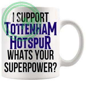 tottenham hotspur fans superpower mug