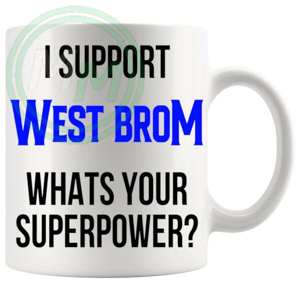 west bromwich albion fans superpower mug