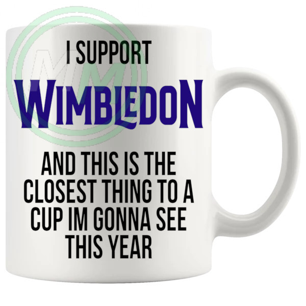wimbledon closest thing to a cup