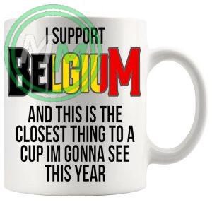 Belgium Euro Mug