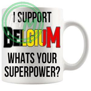 Belgium Supporters Euro Mug