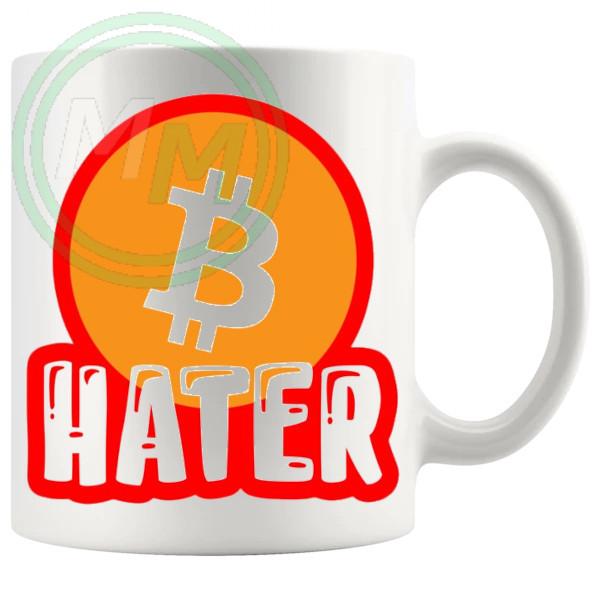 Bitcoin Hater Mug