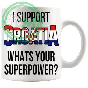 Croatia Supporter Euro Mug