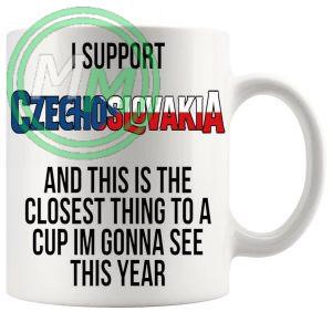 Czechoslovakia Euro Mug