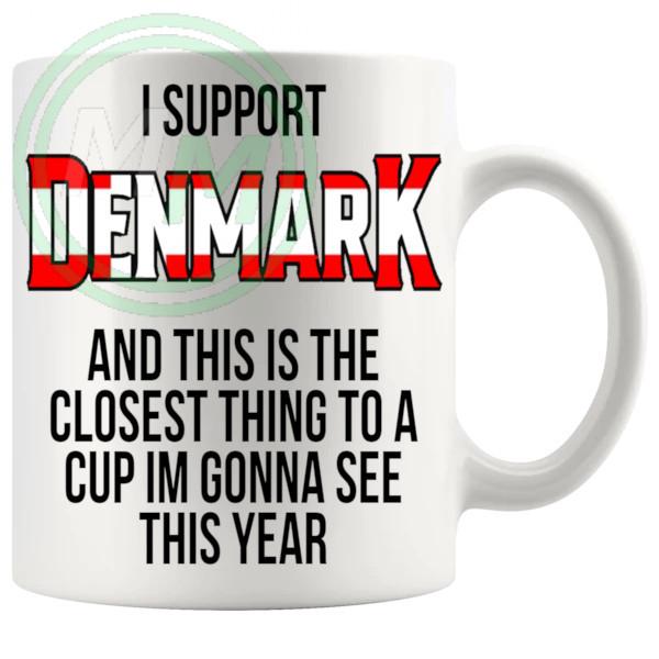 Denmark Euro Mug