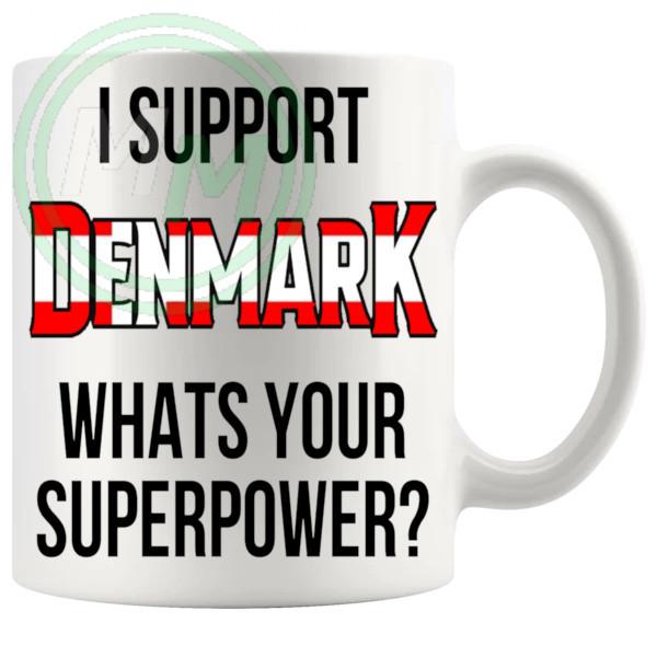 Denmark Supporter Euro Mug