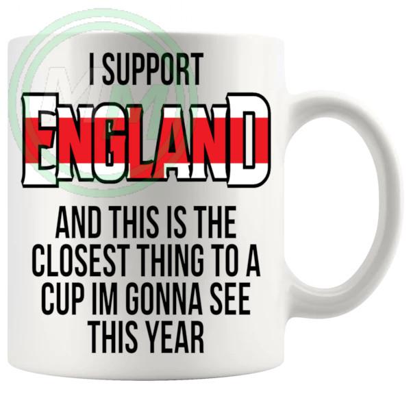 England Euro Mug