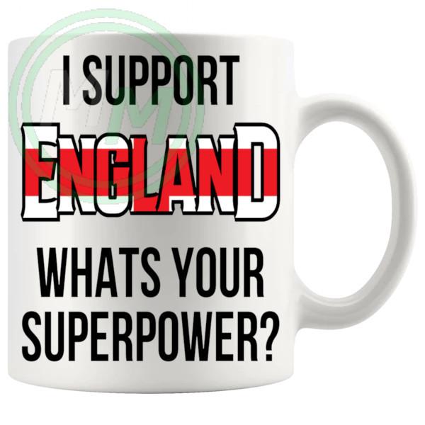 England Supporter Euro Mug