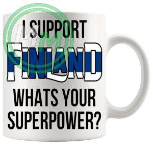 Finland Supporters Euro Mug