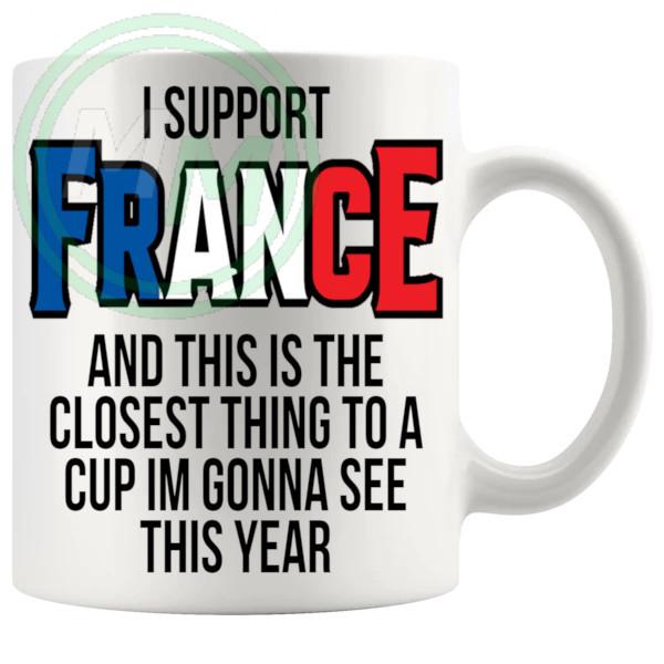 France Euro Mug