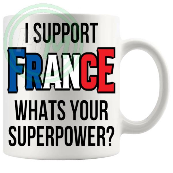 France Supporters Euro Mug