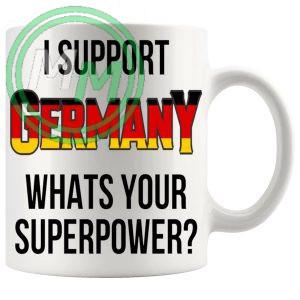 Germany Supporters Euro Mug