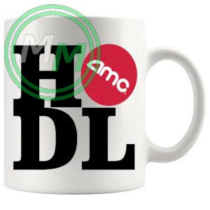 Hodl AMC mug