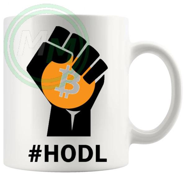 Hodl Bitcoin Mug