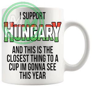Hungary Euro Mug