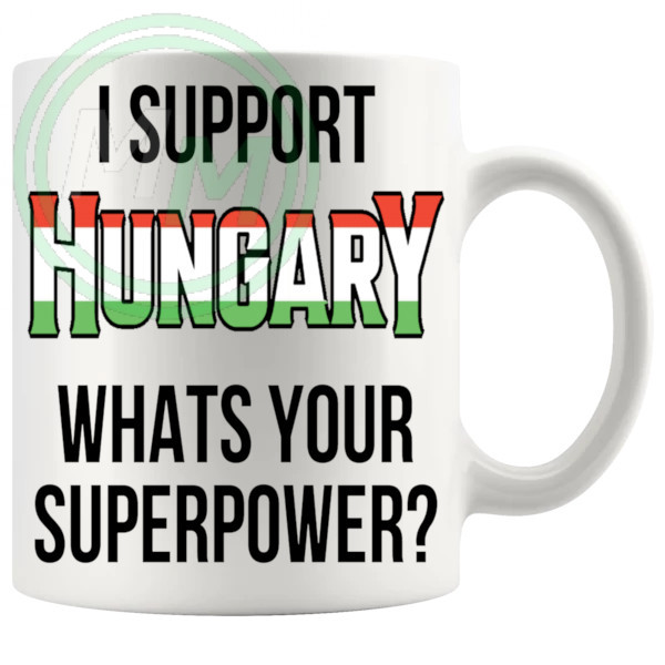 Hungary Supporters Euro Mug