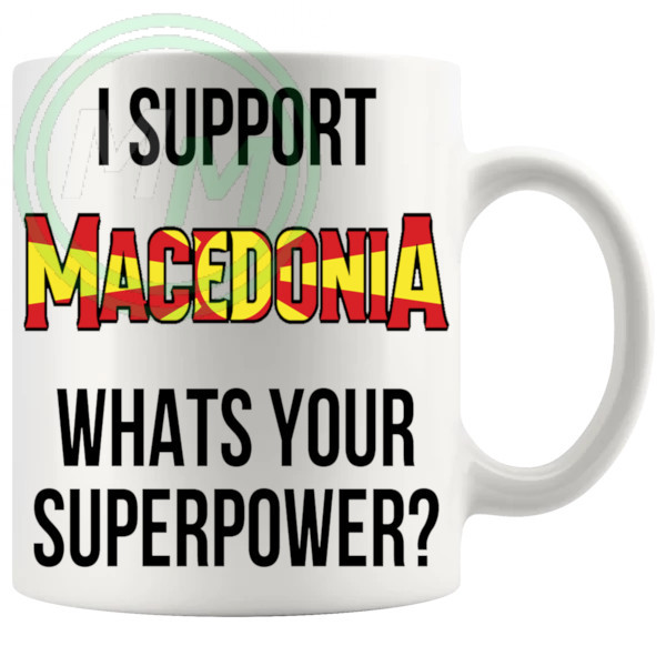 Macedonia Supporters Euro Mug