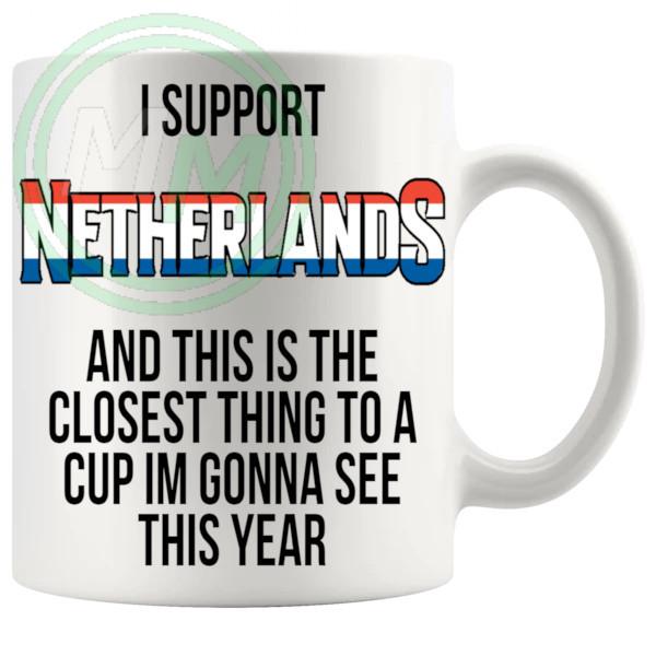 Netherlands Euro Mug