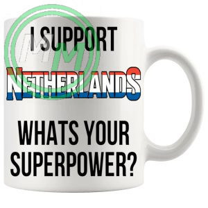 Netherlands Supporters Euro Mug