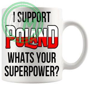 Poland Supporters Euro Mug