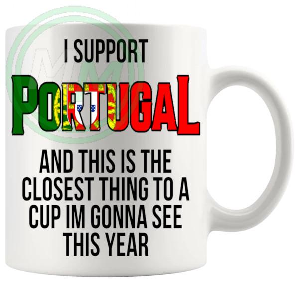 Portugal Euro Mug