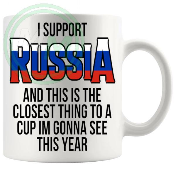 Russia Euro Mug