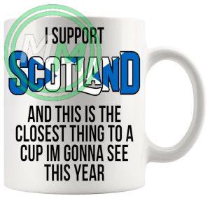 Scotland Euro Mug